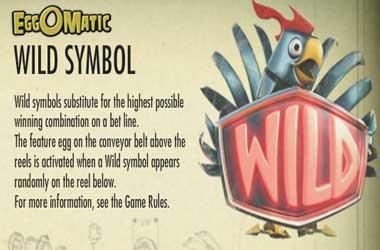 EggOMatic Pokie Wild Symbol