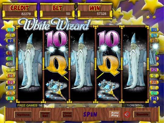 White Wizard Pokie