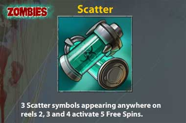 Zombies Pokie Scatter Symbol